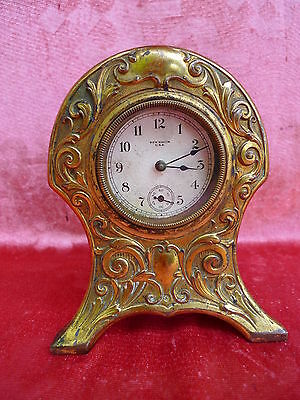 beautiful, antique Watch__Table Clock__Metal __New Heven USA__