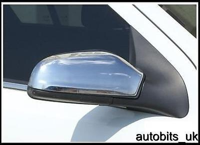 Vauxhall Opel Astra H MK5 04-09 Door Wing Mirror Chrome Covers New Set