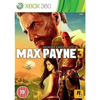 Max Payne 3 (Xbox 360)  BRAND NEW AND SEALED - IN STOCK - QUICK DISPATCH
