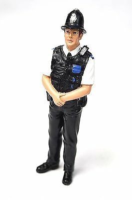 British Police Officer Policeman American Diorama 23992 1:18 Accessory Figure