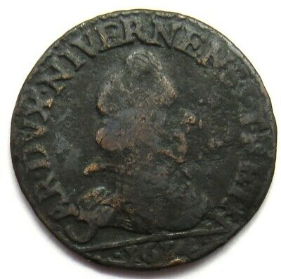 1614 French States Ardennes Liard Coin