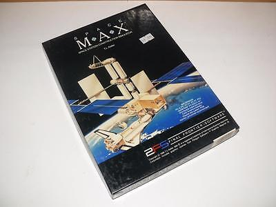 """IBM PC 5.25"""" Software ~ Space Max by End Grenze Software ~ Neu"""