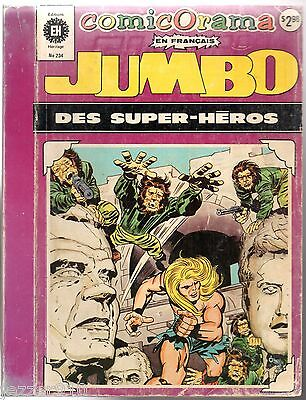 COMICORAMA DES SUPER-HEROS JUMBO n°234 ¤ FLASH/FANTASTIC FOUR/THOR ¤ HERITAGE