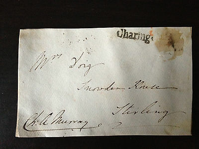 Charles Hippopotamus Murray - Diplomat , Author & Mp - Signed Envelope Front
