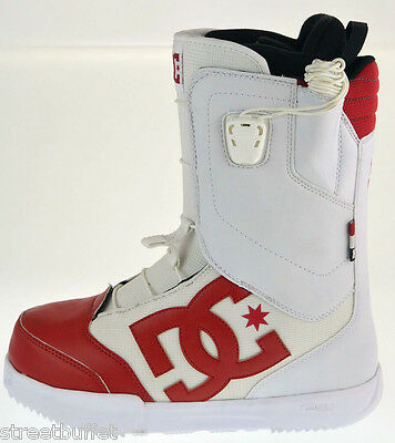 DC Snowboard Boots Avaris 16 Snow Boots  US 9 EU 42 White / Red