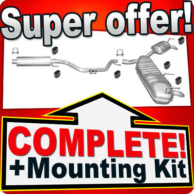 Opel Vectra C 2.0 Turbo 2.2 direct 3.0 3.2 V6 CDTi Silencer Exhaust System J13