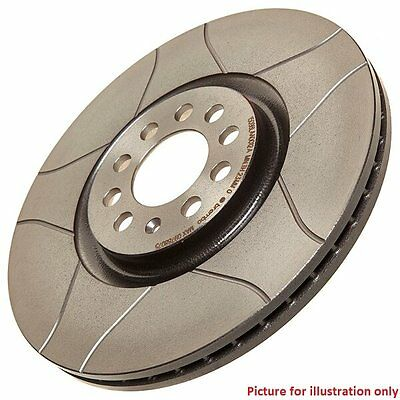 Front Performance High Carbon Grooved Brake Disc (Pair) 09.9772.75 - Brembo Max