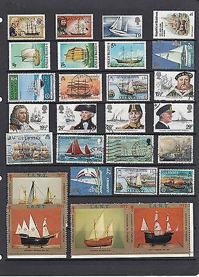 BOATS SHIPS Thematic STAMP COLLECTION Mint Used Ref:TH436