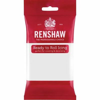 Renshaw Ready To Roll Icing Fondant Cake Regalice Sugarpaste 250g White