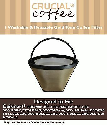 REPL Cuisinart GTF-C Cone Coffee Filter Part # DCC-1200 DCC-1150 Large