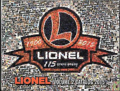 ALL 6 of LIONEL's 2015  Catalogs  + Free Postage