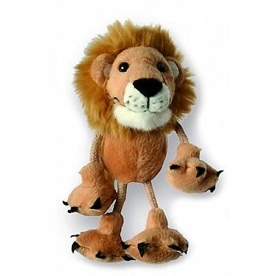 *NEW* PLUSH SOFT TOY Puppet Company 2203 Mini Lion Finger Puppet 10cm