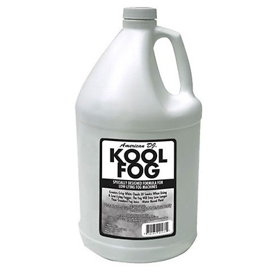 American DJ Kool 1 Gallon Ice Fog Juice Fluid For Low Lying Fogging Machine New