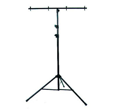 American DJ LTS-6 Black 9 Foot Tripod Lighting Stand With Cross Bar And Bolts