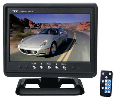 "Pyle Car Audio PLHR79 New 7"" Widescreen Tft Headrest Monitor W/ Headrest & Stand"