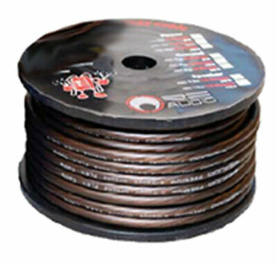 RE Audio REC-8G Quality Flexible 8 Gauge 250 Foot Brown Ground Wire Rec8G New