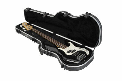 Skb Cases 1Skb-Fb-4 Shaped Standard Bass Guitar Case W/ Tsa Latches 1Skb-Fb4 New