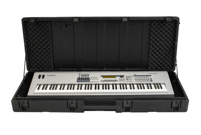 Skb Cases 1Skb-R6020W Roto Molded Case For 88 Note Keyboard With Wheels New