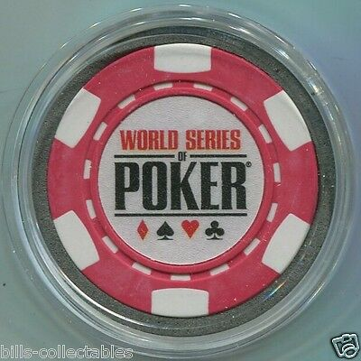 WORLD SERIES OF POKER Card Guard Protector - Red WSOP