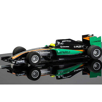 SCALEXTRIC Slot Car C3669 GP Racer - Black/Green