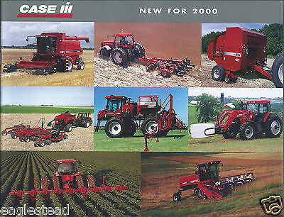 Farm Tractor Brochure - Case IH - New for 2000 Equipment Implement (F4004)