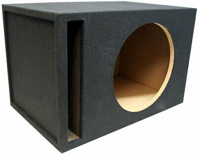 "Single 18"" Universal 1"" MDF Vented Subwoofer Enclosure Sub Box RE Audio New"