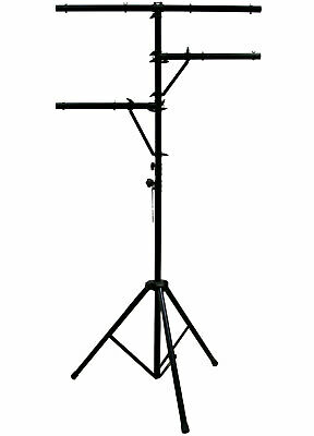 Pro Audio DJ Quad Tree 8 Bolt Lighting Fixture 12 Foot Height Tripod Light Stand