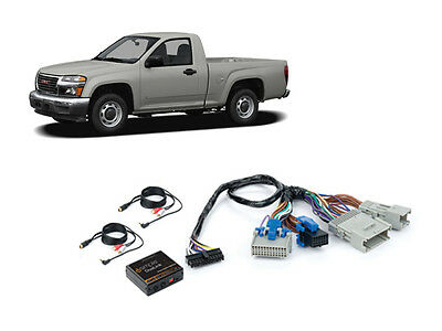 iSimple ISGM535 Gmc 2004-2012 Canyon Dual Aux Audio Input Kit For Factory Radio