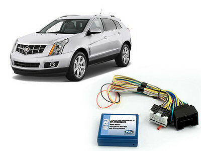 Pac Nu-Gm3 Factory Nav Navigation Radio Bluetooth Unlock 2010-2012 Cadillac Srx