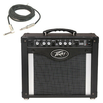 """New Peavey Rage 258 Trans Tube 8"""" Combo Amp 25W Guitar Amplifier W/ 1/4"""" Cable"""