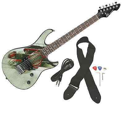 Peavey Rockmaster Full Size DC Comics Man Of Steel Superman Electric Guitar New