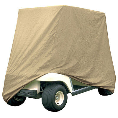 Armor Shield 2 Passenger Golf Cart Storage Cover Tan Color New