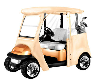 Armor Shield Club Car Precedent Golf Cart Enclosure Tan Color
