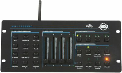 American DJ WIFLY RGBW8C Compact Dmx Controller W/ Wifly Transceiver - Closeout