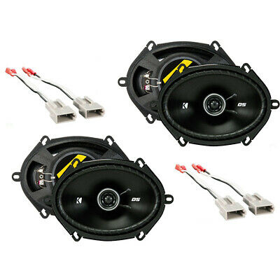 Fits Ford Mustang 1999-2004 Factory Speaker Replacement Kicker (2) DSC68 Package