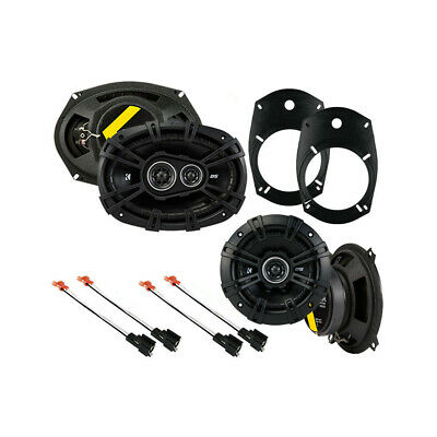 Fits Dodge Ram Truck 2500/3500 2003-2005 OEM Speaker Upgrade Kicker DS Package