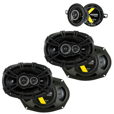 Fits Toyota Camry 2007-2011 Factory Speaker Upgrade Kicker DSC693 DSC35 Package