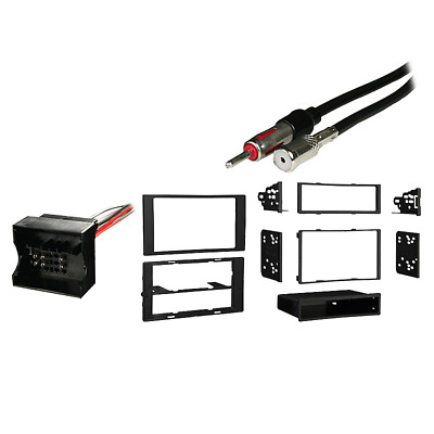 Fits Ford Transit Connect 2012 Multi-DIN Harness Radio Install Dash Kit