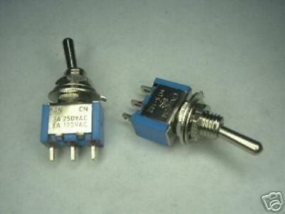 50 Toggle Switch mini SPDT on/off Car Boat Motor Amp