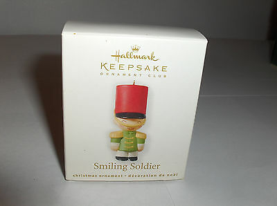 Soldier With Smile`2010`Miniature-Counting Down,Hallmark Christmas Tree Ornament