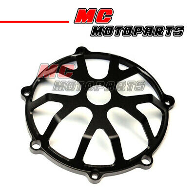 Black CNC Billet Clutch Cover For Ducati Hypermotard 1100 Monster S4R CC21