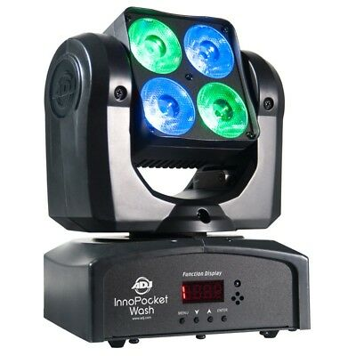 American DJ Inno Pocket Wash Compact Moving Head RGBW Light - Limited Stock