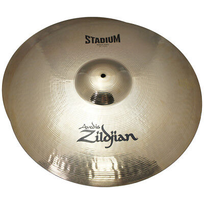 "Zildjian A0497 Stadium Series 20"" Medium Profile Heavy Pair Cymbals - New Return"