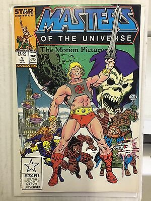 MASTERS OF THE UNIVERSE #1 (The Motion Picture 1987) VF Shape, Rare VHTF