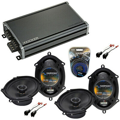 Ford Expedition 1999-2014 Factory Speaker Upgrade Harmony (2) R68 & CX300.4 Amp