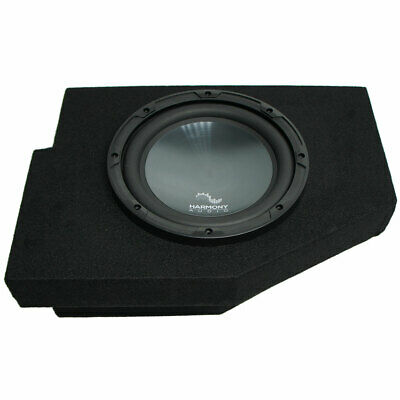 "2002-2015 Fits Dodge Ram Quad / Crew Harmony R104 Single 10"" Sub Box Enclosure"