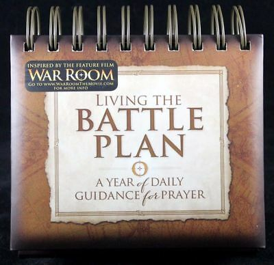 War Room Living The Battle Plan Perpetual Prayer Calendar by Kendrick Brothers