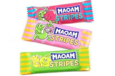 * Haribo Maoam Stripes Fruit Chew Wholesale Pick n Mix Wedding RETRO SWEETS