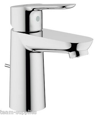 GROHE BauEdge 23356000 Single Lever Mono Basin Mixer Tap inc Pop Up Waste