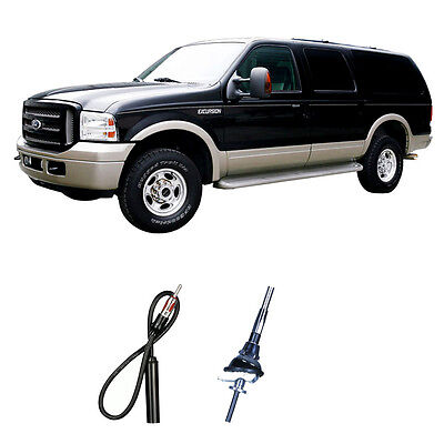 Ford Excursion 2000-2005 Factory Replacement Radio Stereo Custom Antenna Mast